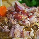 親鶏・すき焼き用(モモ身・ハネ身-1kg)